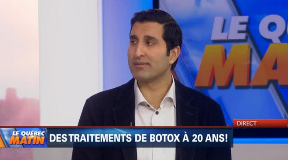 Botox treatment at 20 years old
